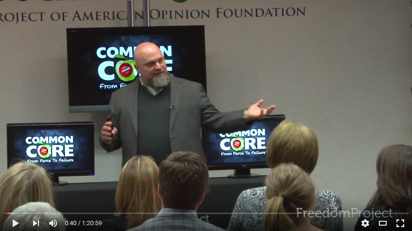 Dr. Duke Pesta - Common Core from Farce to Fiction