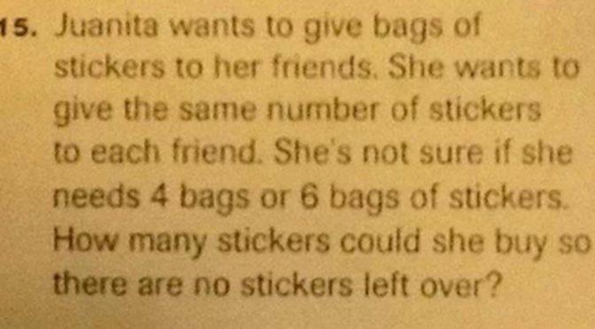 Substitute Teacher Exposes Common Core Math Nonsense