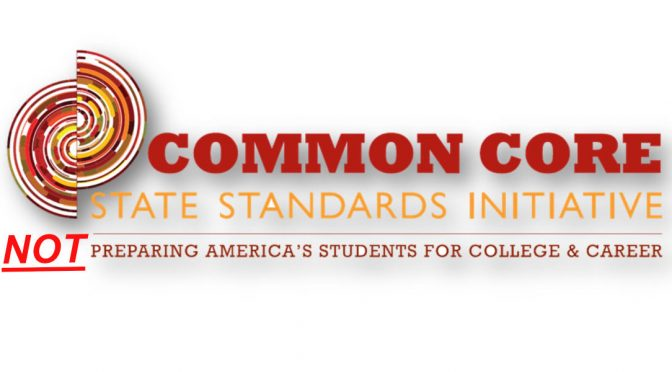 The failure of Common Core State Standards
